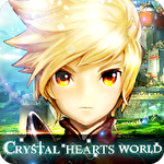 Crystal hearts world Symbol