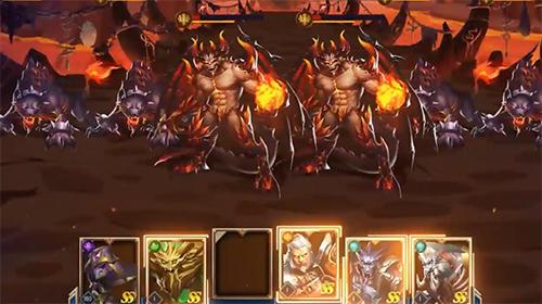 Strategie RPG Dungeon rush: Rebirth auf Deutsch