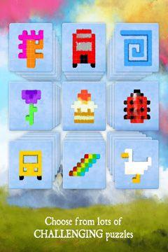 Logikspiele: Lade Pixeltraum auf dein Handy herunter