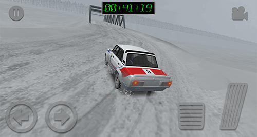 Car games Soviet rally in English