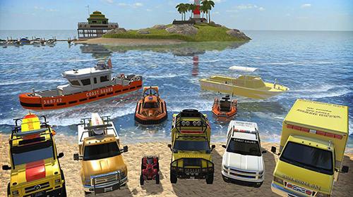 Rennspiele Coast guard: Beach rescue team für das Smartphone