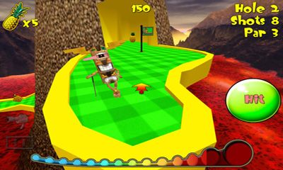 Tiki Golf 2 capture d'écran