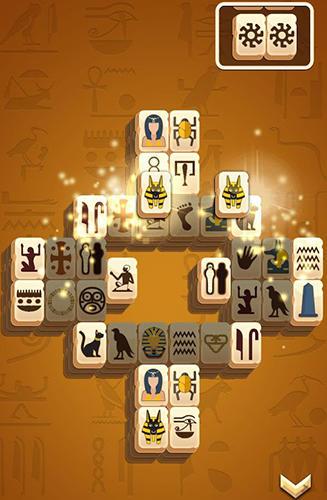 Brettspiele Mahjong solitaire für das Smartphone