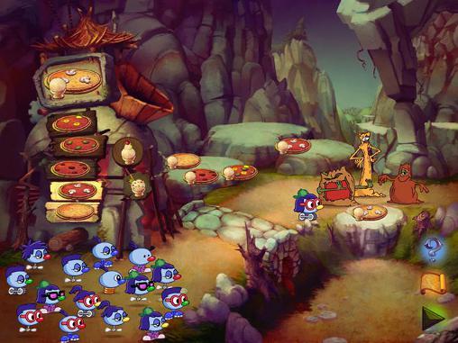 Abenteuer-Spiele Zoombinis für das Smartphone