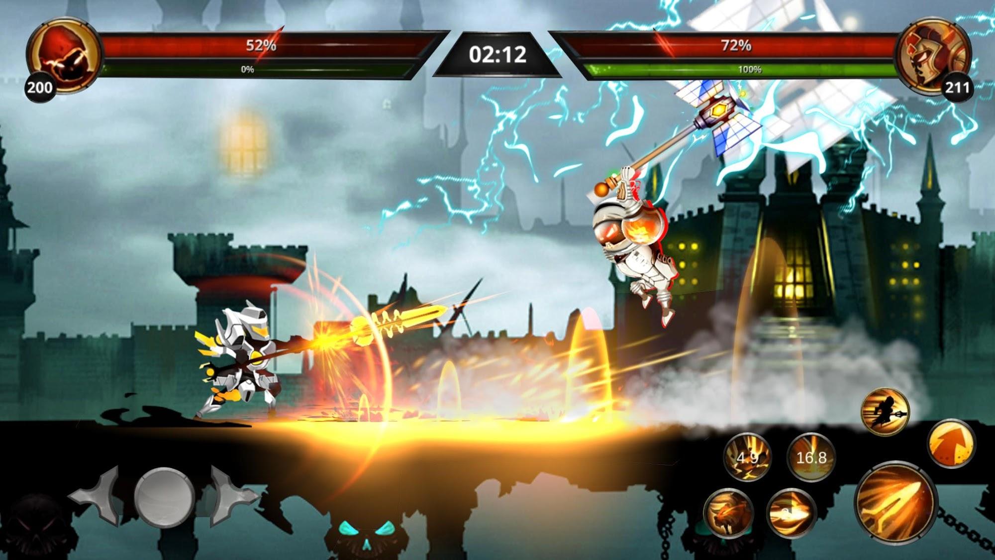 Stickman Legends: Shadow War Offline Fighting Game для Android