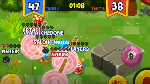 Arcade Shroom snatcher: 3v3 brawler for smartphone