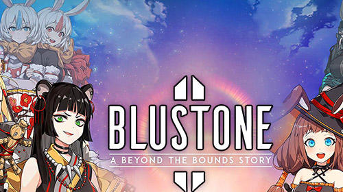 Blustone 2: Anime battle and ARPG clicker game captura de pantalla 1