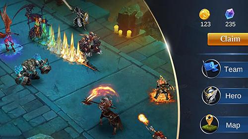 RPG Trials of heroes für das Smartphone
