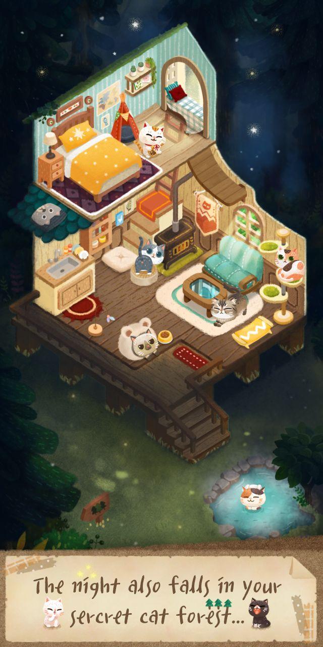 Secret Cat Forest скриншот 1