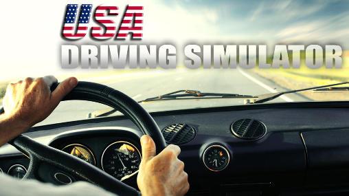 USA driving simulator Symbol