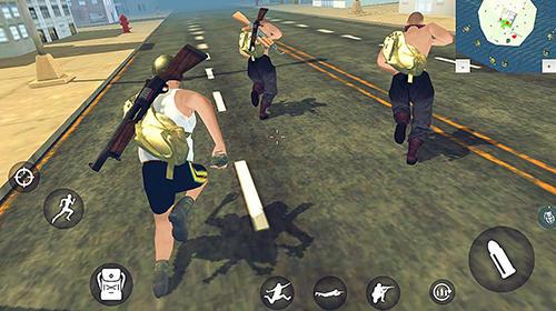 Battle royale simulator PvE für Android