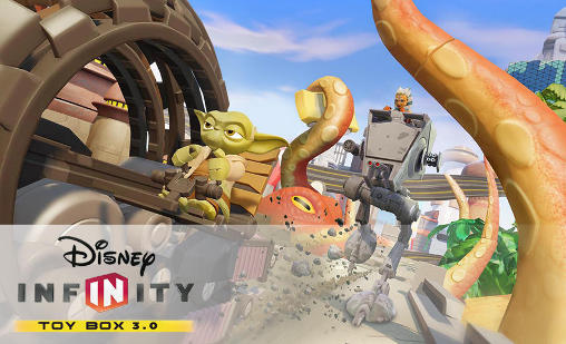 Disney infinity: Toy box 3.0 лого
