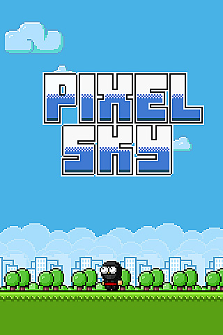 Pixel sky Screenshot