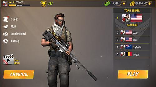 Удар пули: Снайпер