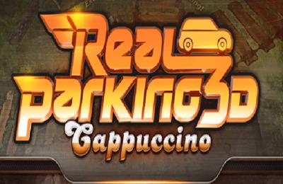 логотип Реальная Парковка 3Д Капучино