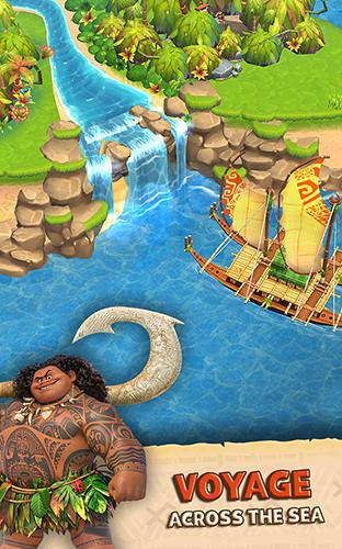 Скриншот Дисней. Моана: Райский остров на андроид