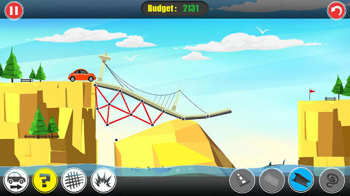 Path of traffic: Bridge building Screenshot