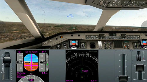 Airline commander: A real flight experience для Android
