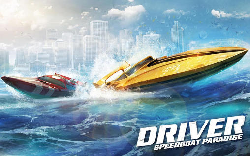 Driver speedboat paradise icône
