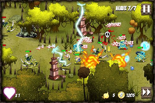 Multiplayer games: download Onion force to your phone