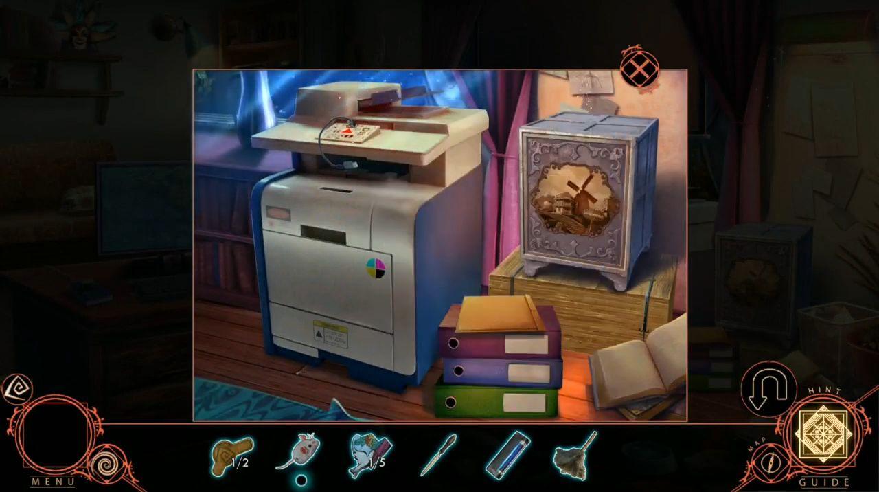 Shadowplay: Harrowstead Mystery (Hidden Object) captura de pantalla 1