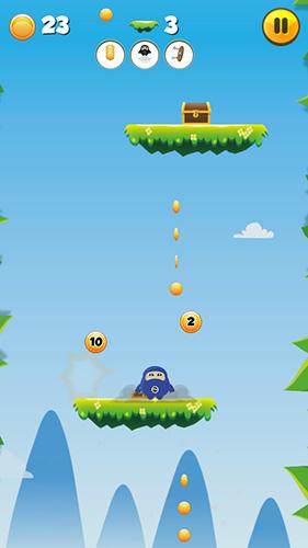 Fat jumping ninja für Android