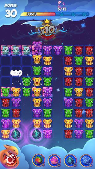 Sky dragon stars: Magic match para Android