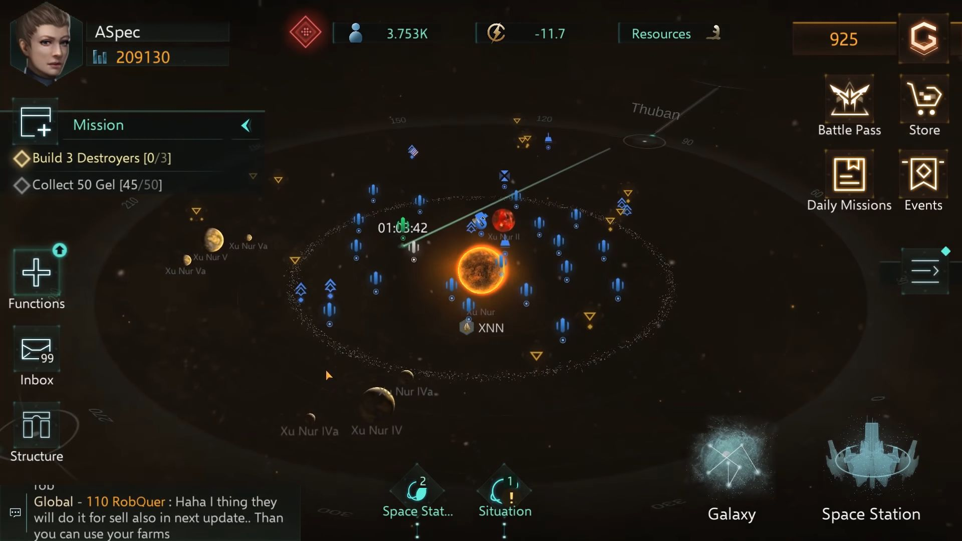 Stellaris: Galaxy Command, Sci-Fi, space strategy capture d'écran 1