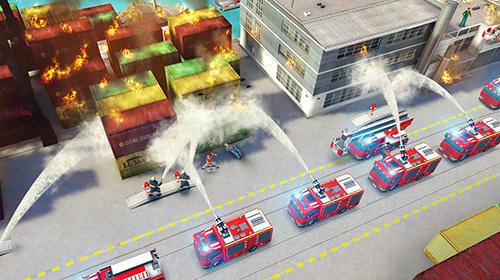 Strategiespiele Emergency HQ für das Smartphone