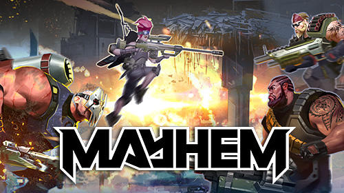 Mayhem: PvP multiplayer arena shooter capture d'écran 1