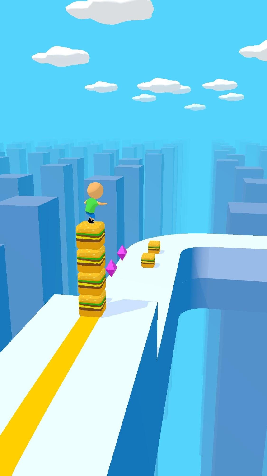 Cube Surfer! скриншот 1