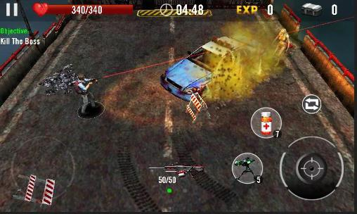 Zombie overkill 3D screenshot 3