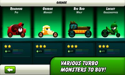Monsters Climb Race: hill race para Android