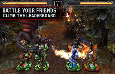 Screenshot Helden der Drachenzeit auf dem iPhone