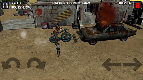Motorcycle game screenshot 1