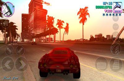 Rennspiele: Lade GTA: Vice City auf dein Handy herunter