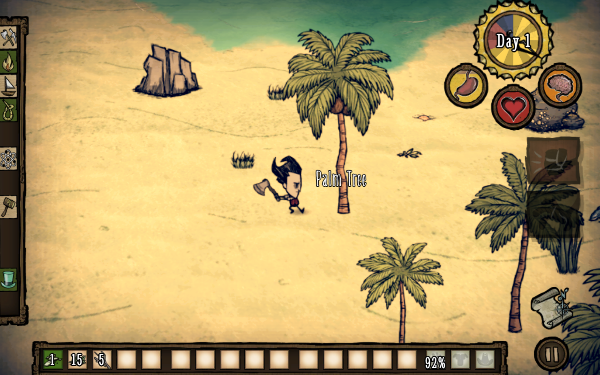 Don't Starve: Shipwrecked captura de pantalla 1