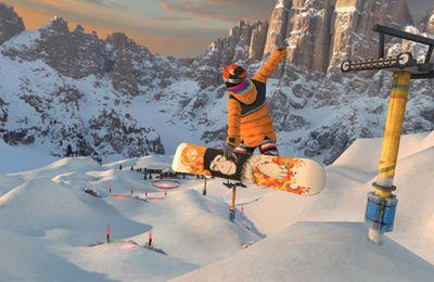 Le Snowboarding sur les Hauteurs en russe