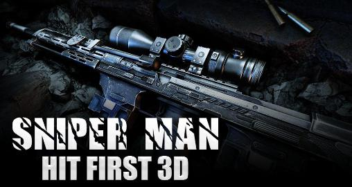 Sniper man: Hit first 3D icône