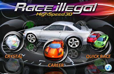 logo Carreras ilegales: la alta velocidad 3D