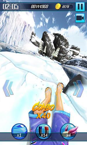 Arcade Water slide 3D für das Smartphone