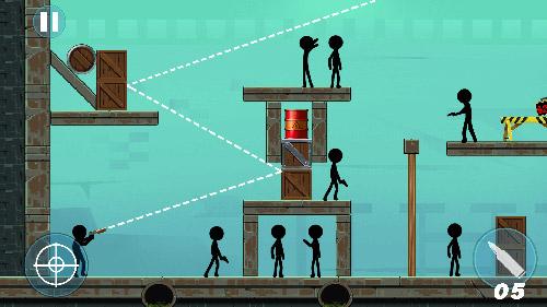 Arcade Stick prisoner rescue für das Smartphone