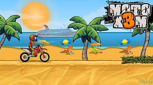 Moto X3M: Bike race game capture d'écran 1