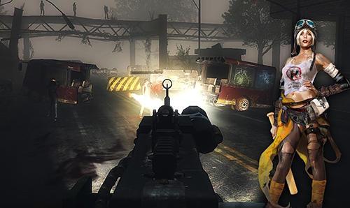 Rennspiele Guns, cars, zombies für das Smartphone