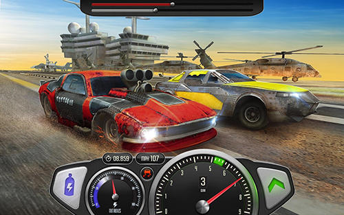 Drag rivals 3D: Fast cars and street battle racing скріншот 3