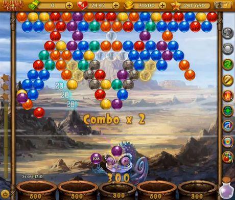 Bubble epic: Best bubble game für Android