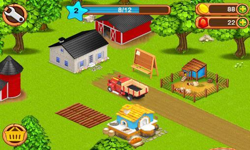 Simulator-Spiele Little big farm für das Smartphone