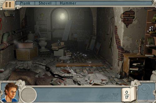 Screenshot Alabama Smith in Die Flucht aus Pompeii auf dem iPhone