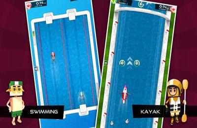 Arcade-Spiele: Lade Flick Meister: Sommersport auf dein Handy herunter