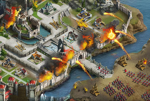 Onlinespiele Gods and glory: Age of kings für das Smartphone